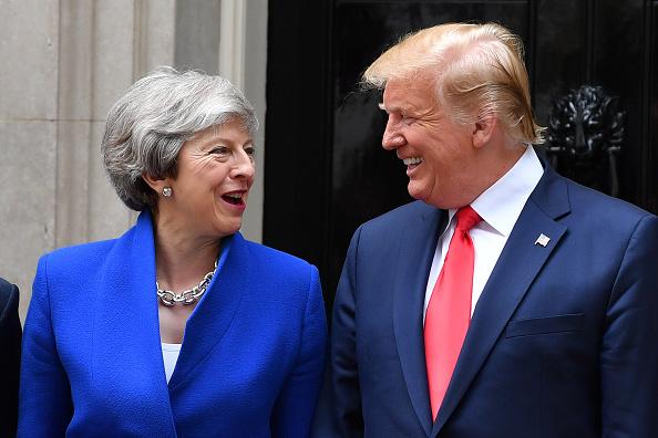 Visit「U.S. President Trump's State Visit To UK - Day Two」:写真・画像(0)[壁紙.com]