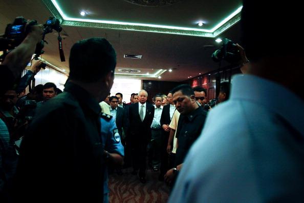 Mohammad Najib Tun Razak「Malaysian Prime Minister Announces Flight MH370 Crashed Into Southern Indian Ocean」:写真・画像(11)[壁紙.com]