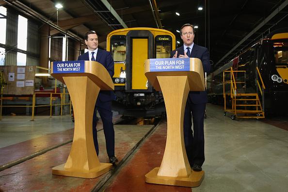 Finance and Economy「Cameron And Osborne Visit Arriva Traincare In Crewe」:写真・画像(15)[壁紙.com]