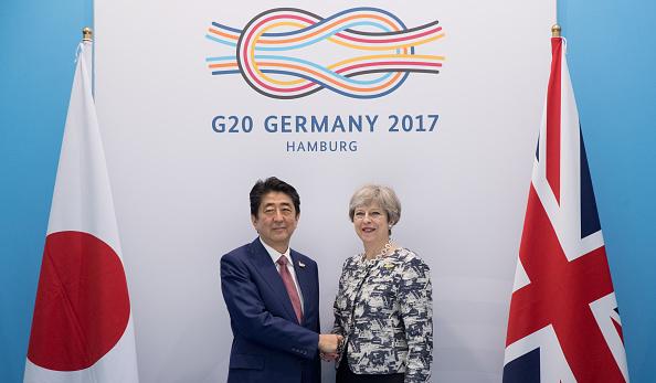 Japan「G20 Hamburg Summit: Day 2 Of Sessions」:写真・画像(10)[壁紙.com]