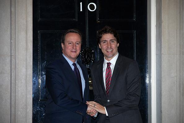 Politics and Government「Canadian Prime Minister Justin Trudeau Meets David Cameron」:写真・画像(18)[壁紙.com]