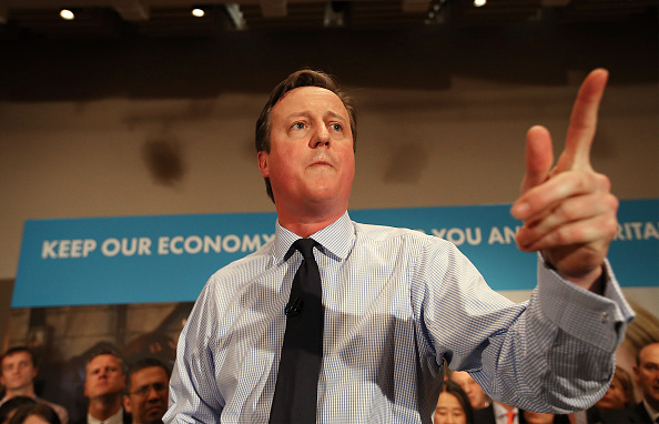 Business Finance and Industry「David Cameron Makes Campaign Speech In London」:写真・画像(6)[壁紙.com]