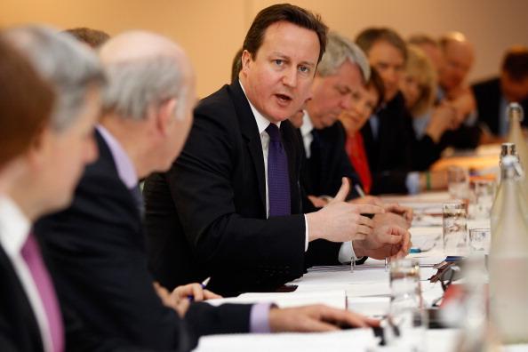 Christopher Furlong「Prime Minister David Cameron And His Cabinet Visit The Midlands」:写真・画像(7)[壁紙.com]