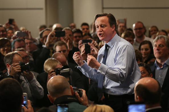 Business Finance and Industry「David Cameron Makes Campaign Speech In London」:写真・画像(5)[壁紙.com]