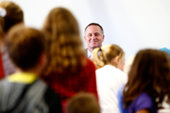 Phil Walter「Prime Minister John Key Announces Funding For Primary Schools In Auckland」:写真・画像(4)[壁紙.com]