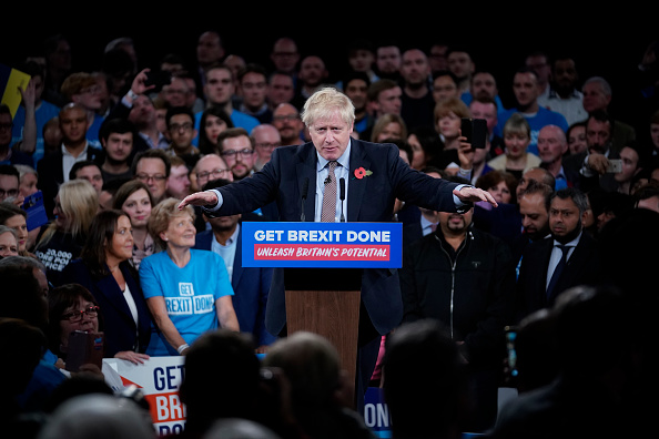Conservative Party - UK「Boris Johnson Launches The Conservative Party General Election Campaign」:写真・画像(4)[壁紙.com]