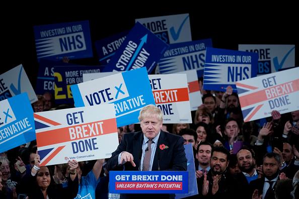 Conservative Party - UK「Boris Johnson Launches The Conservative Party General Election Campaign」:写真・画像(0)[壁紙.com]