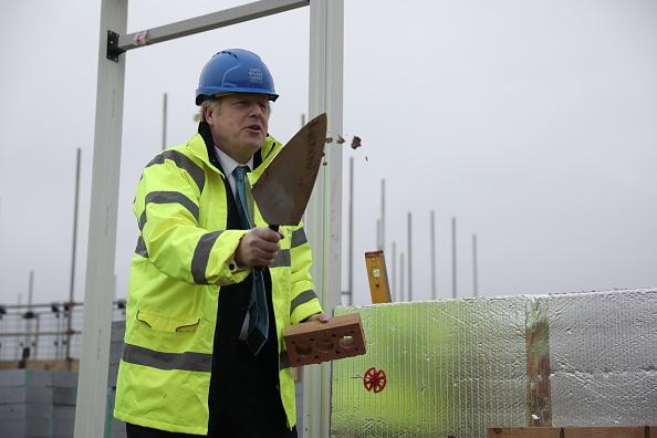 Construction Material「Boris Johnson Campaigns In Bedford」:写真・画像(16)[壁紙.com]