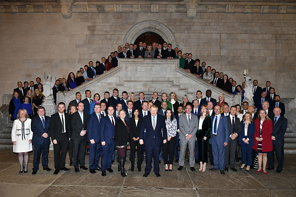 Conservative Party - UK「Newly-elected Conservative MPs Are Pictured With Leader Boris Johnson」:写真・画像(3)[壁紙.com]
