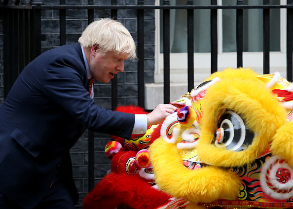 中国文化「PM Johnson Hosts Chinese New Year Celebrations Outside 10 Downing Street」:写真・画像(18)[壁紙.com]