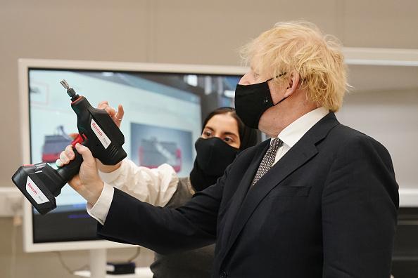 Politics「Boris Johnson Touts Defence Policy Vision In Visit To Lancashire」:写真・画像(6)[壁紙.com]