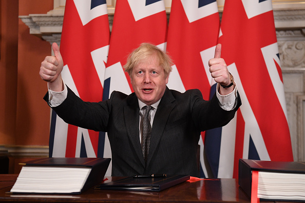 Brexit「The EU-UK Post-Brexit Trade Deal Is Signed in Brussels And London」:写真・画像(5)[壁紙.com]
