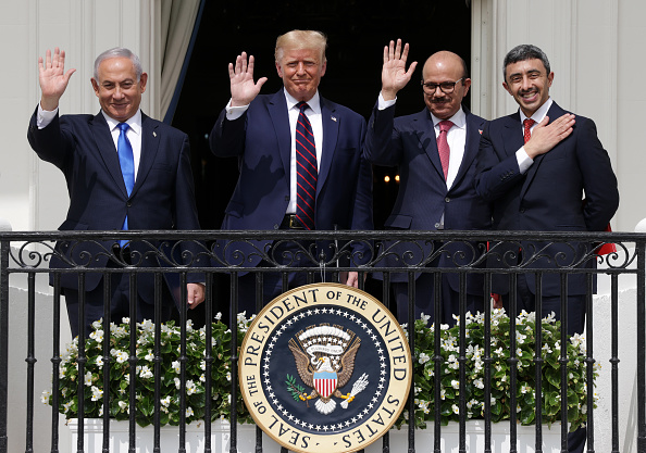 Middle East「President Trump Hosts Abraham Accords Signing Ceremony On White House South Lawn」:写真・画像(3)[壁紙.com]