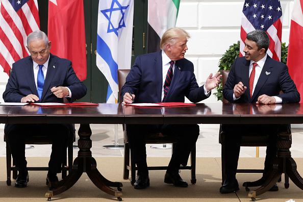 United Arab Emirates「President Trump Hosts Abraham Accords Signing Ceremony On White House South Lawn」:写真・画像(1)[壁紙.com]