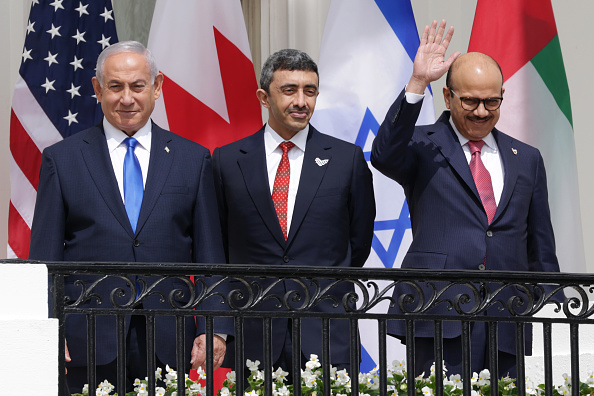 United Arab Emirates「President Trump Hosts Abraham Accords Signing Ceremony On White House South Lawn」:写真・画像(13)[壁紙.com]