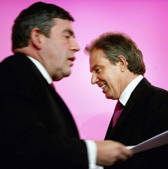 Graeme Robertson「Blair And Brown Host Election Press Conference」:写真・画像(2)[壁紙.com]