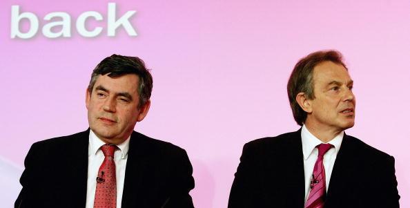 Graeme Robertson「Blair And Brown Host Election Press Conference」:写真・画像(1)[壁紙.com]