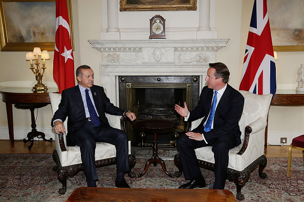 2012 Summer Olympics - London「Prime Minister David Cameron Meets Turkish Prime Minister Recep Tayyip Erdogan」:写真・画像(19)[壁紙.com]