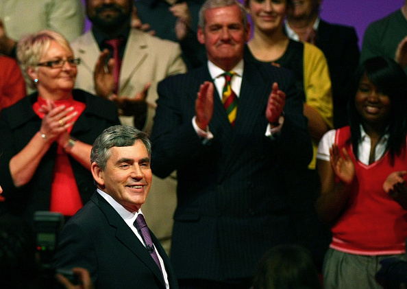 Support「Gordon Brown Addresses The Labour Party Conference」:写真・画像(11)[壁紙.com]
