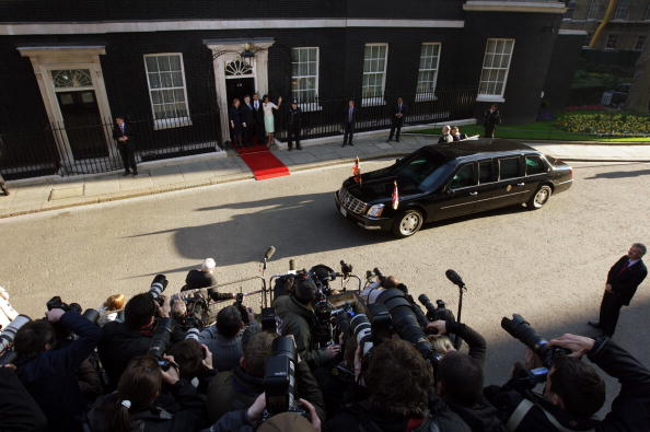 Politician「President Obama And The First Lady Arrive At Downing Street」:写真・画像(1)[壁紙.com]