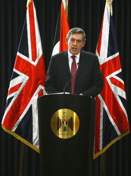 West Bank「British Prime Minister Gordon Brown Meets Abbas」:写真・画像(3)[壁紙.com]