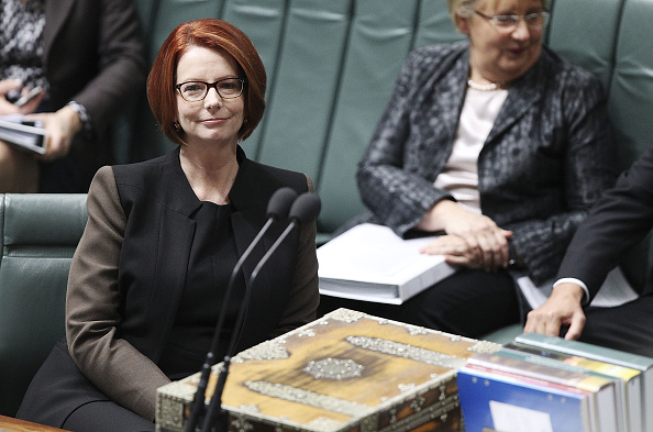 Julia Gillard「All Eyes On Canberra As Labor Leadership Battle Develops」:写真・画像(16)[壁紙.com]