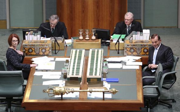 Julia Gillard「Parliament Resumes In Canberra」:写真・画像(4)[壁紙.com]