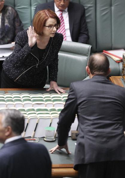 Julia Gillard「Parliament Resumes In Canberra」:写真・画像(5)[壁紙.com]