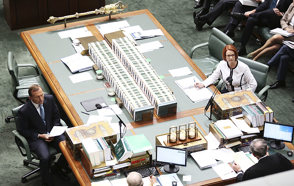 Julia Gillard「Labor Leadership Crisis Unfolds In Canberra」:写真・画像(11)[壁紙.com]