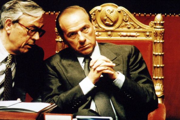 Franco Origlia「Berlusconi And Previti」:写真・画像(2)[壁紙.com]