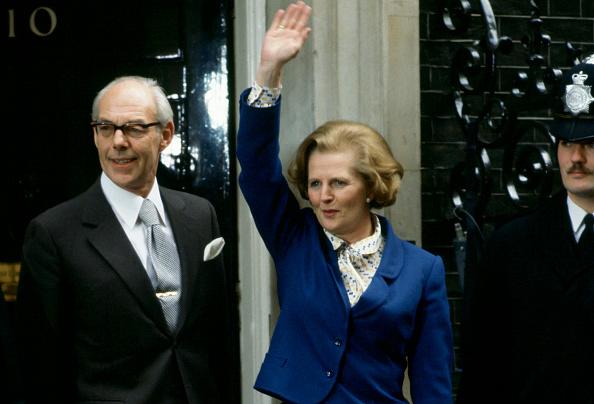 Prime Minister「Newly Elected Prime Minister Margaret Thatcher Arrives At Downing Street」:写真・画像(5)[壁紙.com]