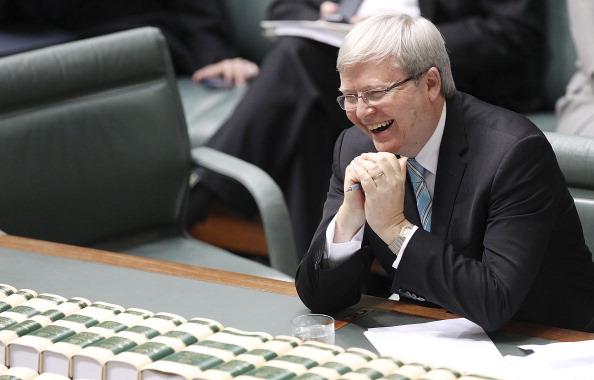 Announcement Message「Kevin Rudd Sworn In As Australian Prime Minister」:写真・画像(18)[壁紙.com]