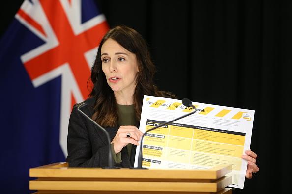 警戒「Prime Minister Jacinda Ardern Gives Update On Coronavirus Measures」:写真・画像(10)[壁紙.com]