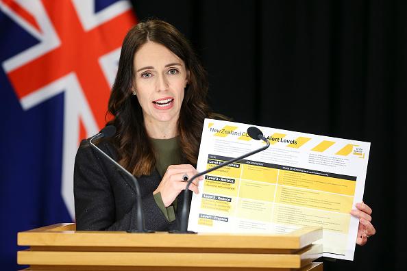 警戒「Prime Minister Jacinda Ardern Gives Update On Coronavirus Measures」:写真・画像(2)[壁紙.com]