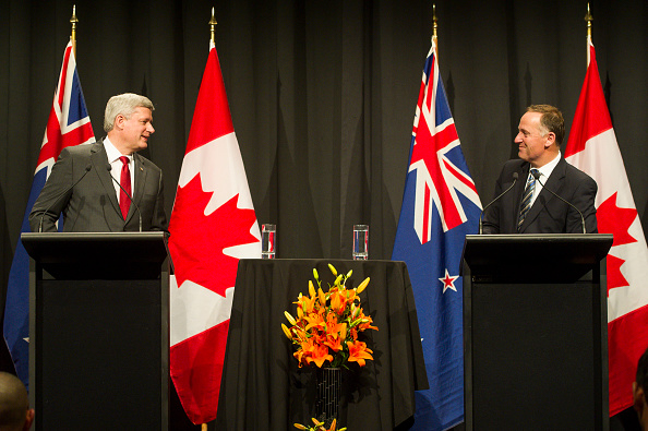 Participant「Prime Minister Of Canada Stephen Harper Visits New Zealand Ahead of G20 Summit」:写真・画像(7)[壁紙.com]