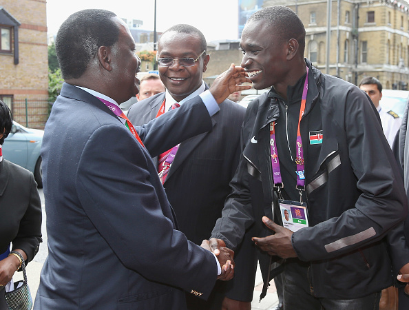 2012 Summer Olympics - London「Kenya Prime Minister RT. HON. Raila Odinga Visits Kenya National House」:写真・画像(18)[壁紙.com]