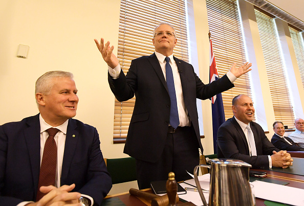 Five People「Scott Morrison Holds Coalition Joint Party Room Meeting」:写真・画像(15)[壁紙.com]