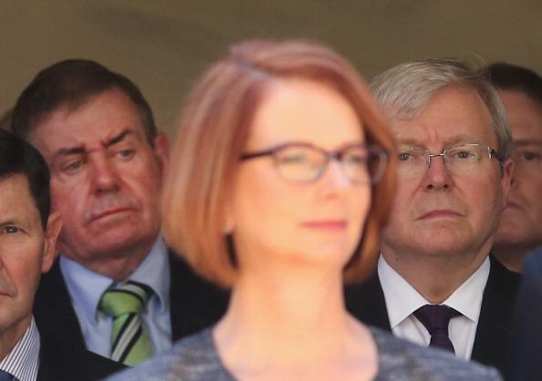 Julia Gillard「State Funeral Held For Former Speaker Joan Child」:写真・画像(18)[壁紙.com]