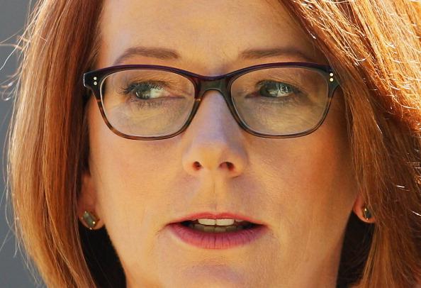 Julia Gillard「State Funeral Held For Former Speaker Joan Child」:写真・画像(9)[壁紙.com]