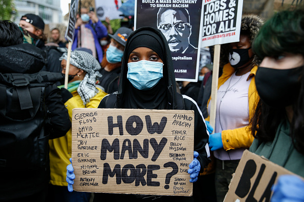 Sign「Black Lives Matter Demonstrations In UK Continue Into The Weekend」:写真・画像(15)[壁紙.com]
