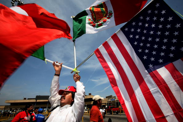 Baja California Peninsula「Immigrants Rally And Hold Boycotts Nationwide」:写真・画像(14)[壁紙.com]