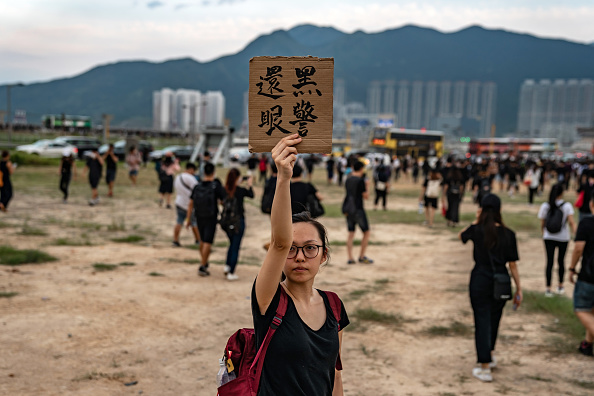 Hong Kong International Airport「Unrest In Hong Kong During Anti-Extradition Protests」:写真・画像(9)[壁紙.com]