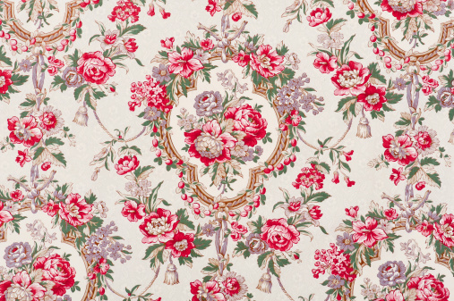 Floral Pattern「Satin Couverture 4158089-4 Close Up」:スマホ壁紙(17)