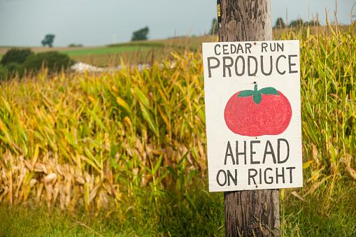 Pennsylvania「Sign for farm stand」:スマホ壁紙(7)