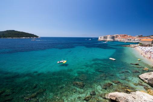 アドリア海「ロクルム島ドブロブニク,クロアチア」:スマホ壁紙(14)