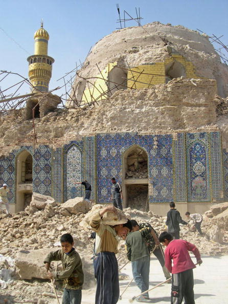 Architectural Feature「Samarra Shia Shrine Blast Sparks Widespread Protests And Violence」:写真・画像(19)[壁紙.com]