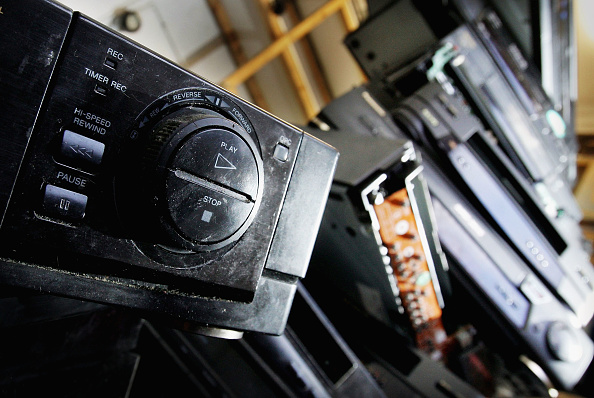 Audio Equipment「Video Recorders Become Phased Out By High Street Store」:写真・画像(11)[壁紙.com]