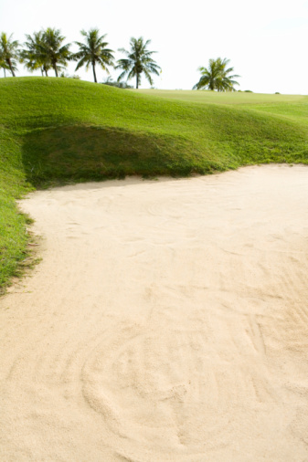 Sand Trap「Bunker in Golf Links」:スマホ壁紙(11)