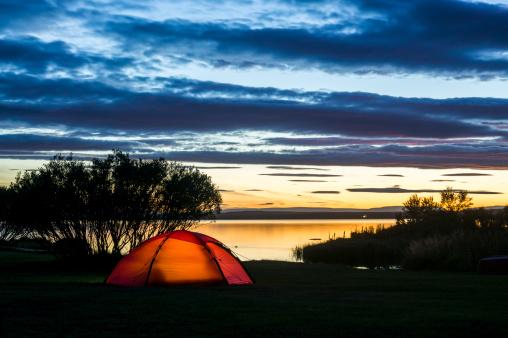 Tent「aurora borealis on iceland」:スマホ壁紙(9)