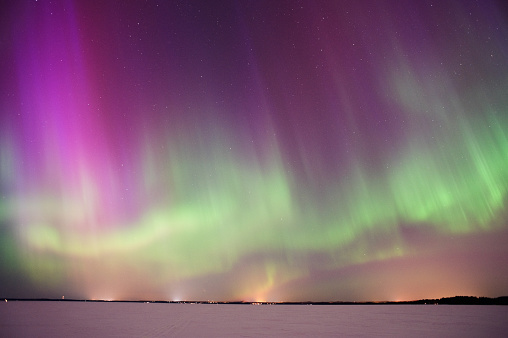 star sky「Aurora Borealis」:スマホ壁紙(6)
